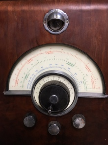 EKCO SW86 console dial (UK 1937)