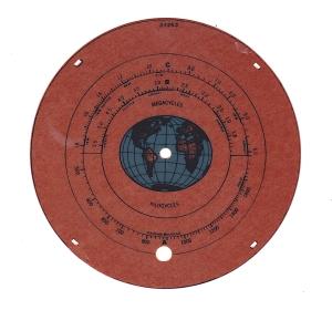 RCA model 128 dial