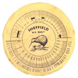 Sheffield circular dial