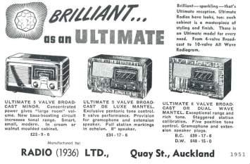 Ultimate radios 1951