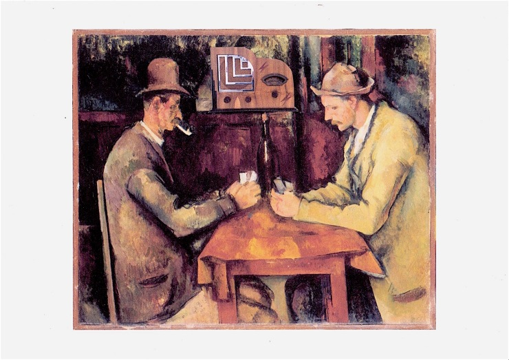 Cezanne - card players with Pacific 205