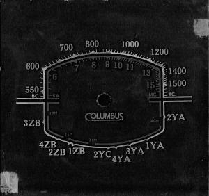 Columbus 85 dial 2