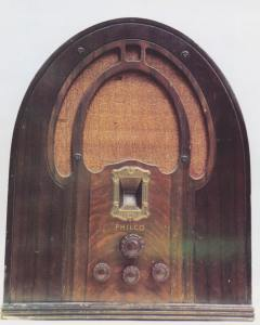 Philco 89B cathedral (1933)