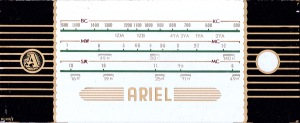 Ariel horizontal dial