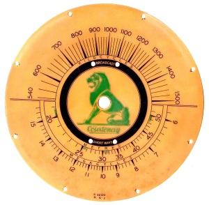 Courtenay 21 dial