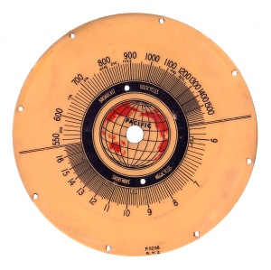 Pacific model 21 dial