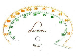 Luxor dial dual wave